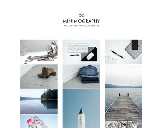 Minimography - Royalty-Free Minimalist Photos