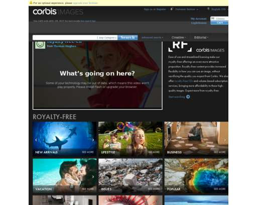 Corbis Images: Premium Quality Stock Photography and Illustration.
