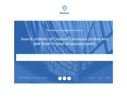 PhotoPin - Free Photos for Bloggers via Creative Commons