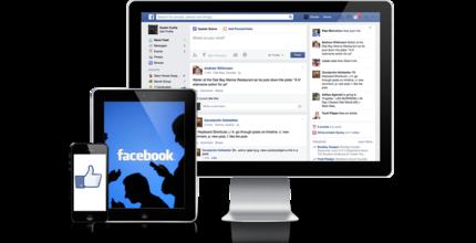 Social Media Webdesign
